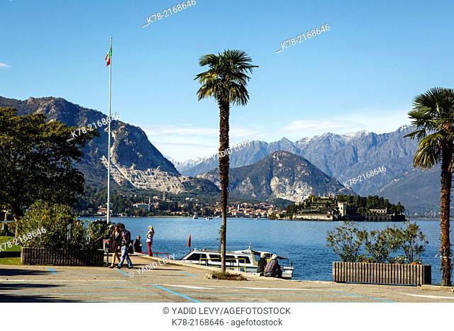 Lake Maggiore, Piedmont, Italy