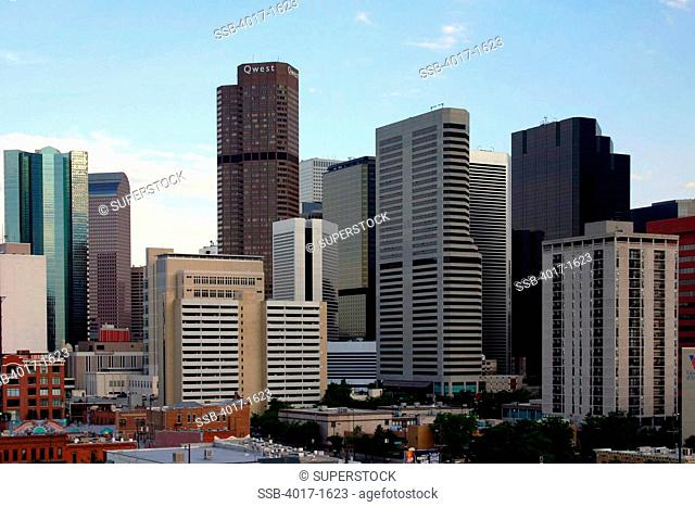 Veiw of Downtown Denver from Coors Field in LoDo
