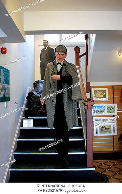 England Devon Dartmoor Princetown Interior of museum Peter Baker