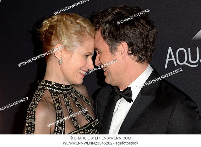 InStyle/Warner Bros. Golden Globes after party - Arrivals Featuring: Sunrise Coigney, Mark Ruffalo Where: Los Angeles, California