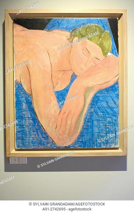 Switzerland, Valais, City of Martigny, Foundation Pierre Giannada and park, exhibition Henri Matisse in its time (Henri Matisse en son temps)