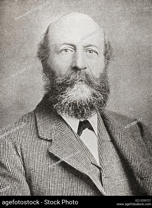"George Cadbury, 1839 â. "" 1922. Son of John Cadbury who founded Cadbury's cocoa and chocolate company. From The Business Encyclopaedia and Legal Adviser"