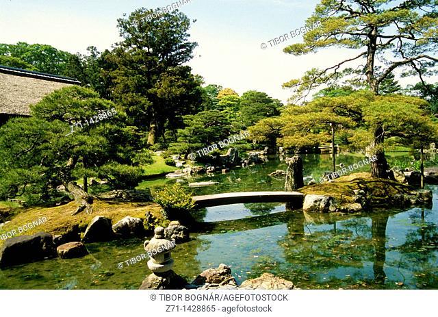 Japan, Kansai, Kyoto, Katsura Rikyu Imperial Villa, garden