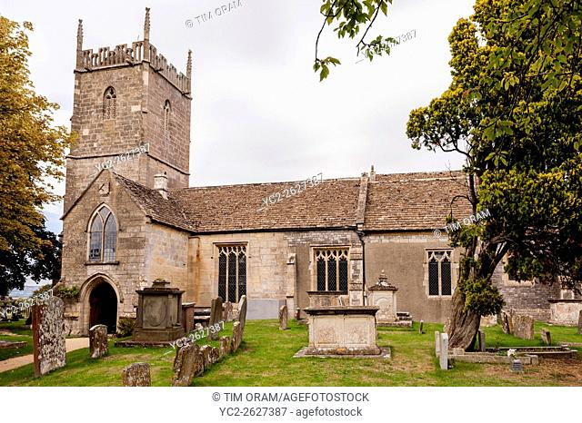 St. Mary's Church in Frampton-on-Severn , Gloucestershire , England , Britain , Uk