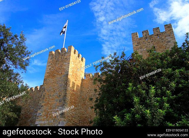Das Castelo de Sao Jorge