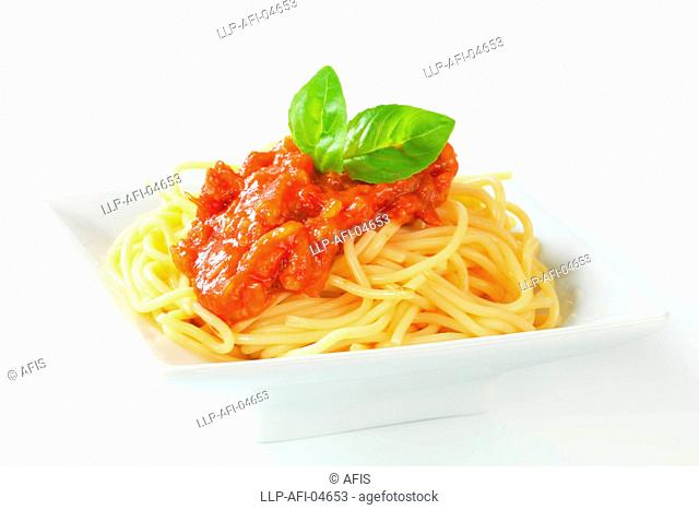 Sweet and sour spaghetti