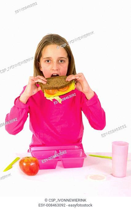 Healthy lunch at school