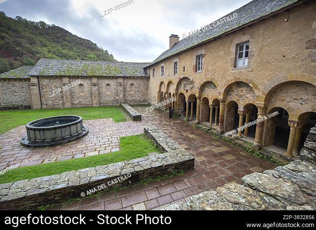 Conques is a former commune in the Aveyron department in Southern France, in the Occitanie region the village is one of the prettiest villages of France