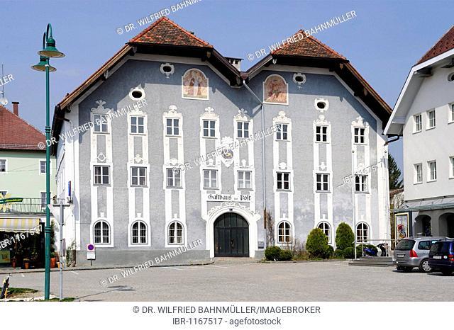 Restaurant Zur Post, market spare, Frankenburg, Upper Austria, Europe