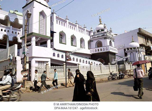Juma Masjid in Shivajinagar ; Bangalore ; Karnataka ; India