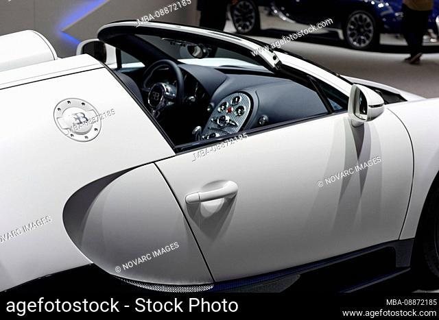 Bugatti Veyron 16.4 Grand Sport, International sports car Geneva, Geneva, Switzerland, Europe
