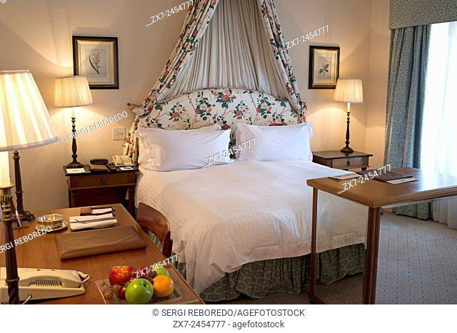 The Westcliff Hotel Johannesburg South Africa. Inside of a room