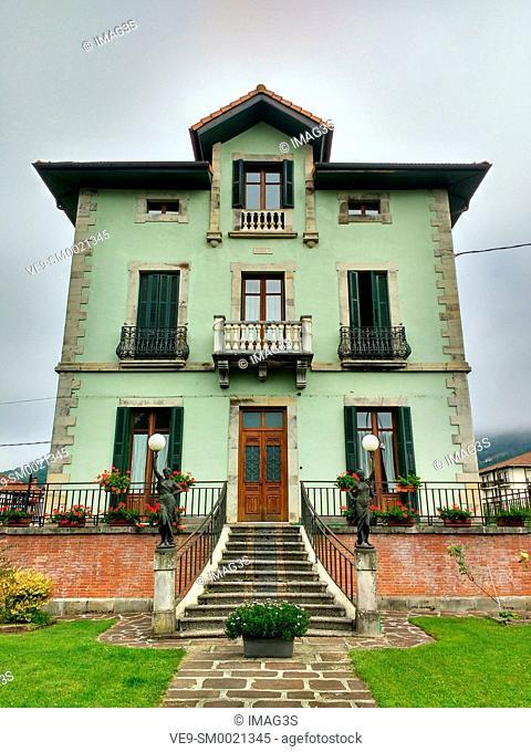 Elizondo village, Baztan valley, Navarre, Spain