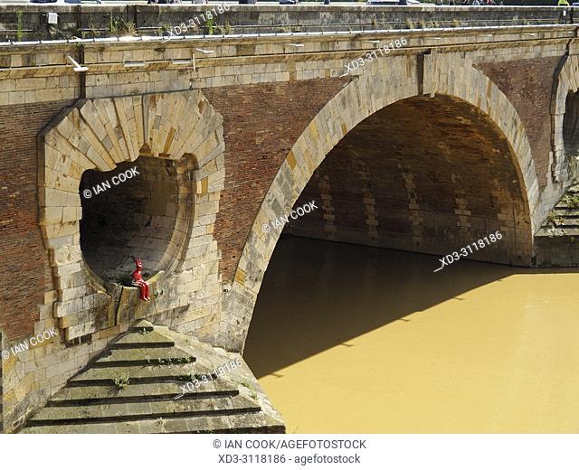 Pont Neuf, Toulouse, Haute-Garonne Department, Occitanie, France