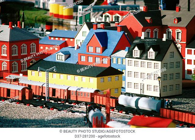 Lego factory in Denmark