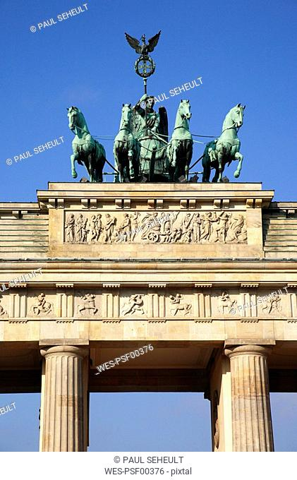 Germany, Berlin, Brandenburg Gate