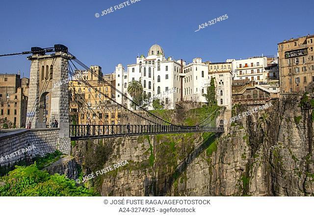 Algeria, Constantine City, Mellah Slimane Brig