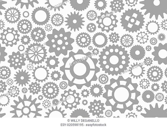 seamless pattern gear