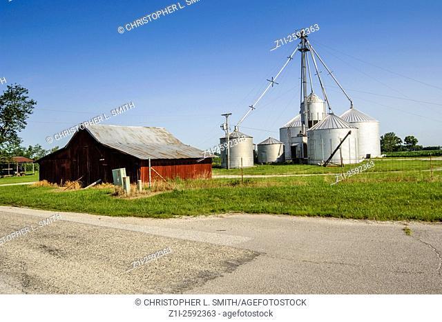 Traditional mid-west farm