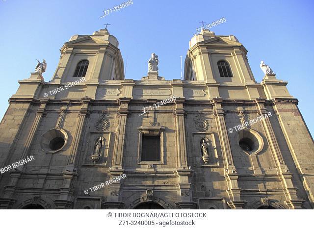 Chile, Santiago, Templo de Santo Domingo, church,