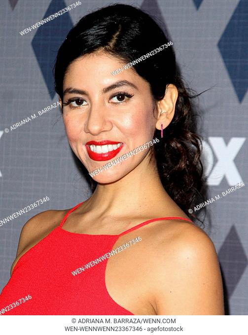 FOX Winter TCA 2016 All-Star Party held at the Langham Huntington Hotel - Arrivals Featuring: Stephanie Beatriz Where: Los Angeles, California