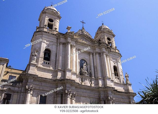 Church of San Francesco d'Assisi all'Immacolata, Catania, Sicily, Italy