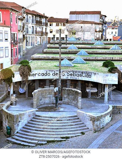 Mercado de São Sebastião (São Sebastião market), Porto, Portugal