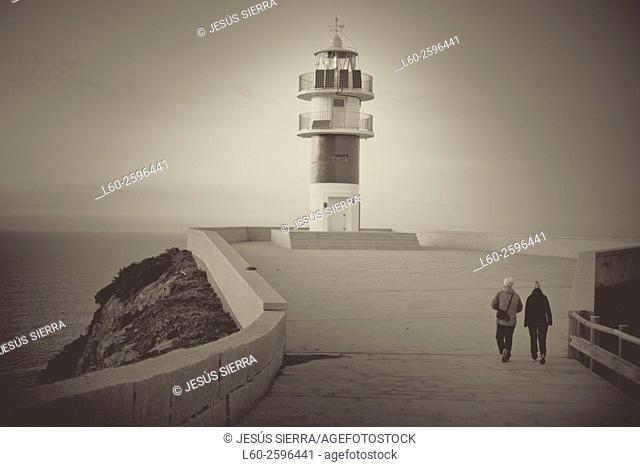 Cape Ortegal Lighthouse, A Coruña, Galicia, Spain