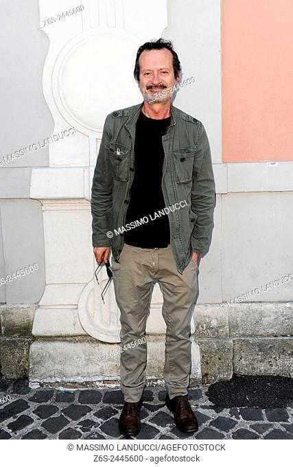 Rocco Papaleo; papaleo; actor; celebrities; 2015; rome; italy; event; presentation theater season ; teatro Ambra Jovinelli