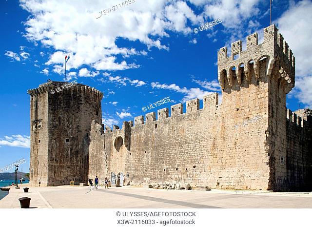 camerlengo fortress, trogir, dalmatia, croatia, europe
