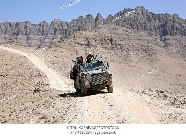 Dutch military in Uruzgan as part of the ISAF intervention