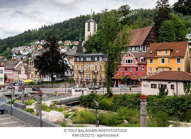 Triberg , Baden-Wurtemberg, distrito de Selva Negra-Baar, Alemania, Europe