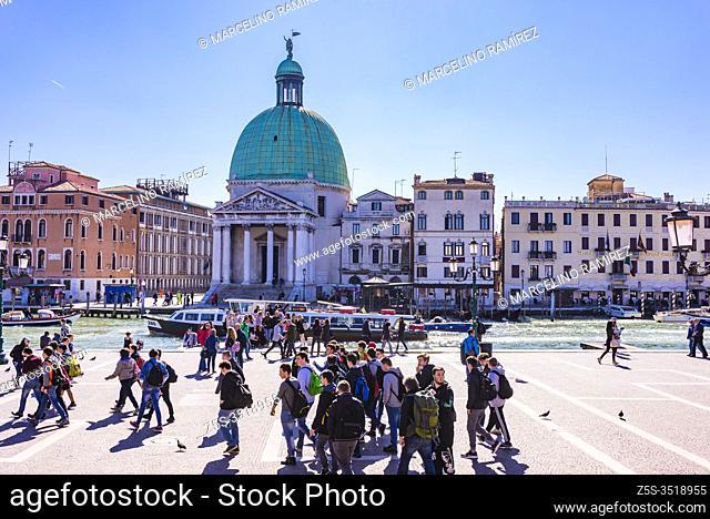 San Simeone Piccolo, also called San Simeone e Giuda, is a church in the sestiere of Santa Croce in Venice, northern Italy