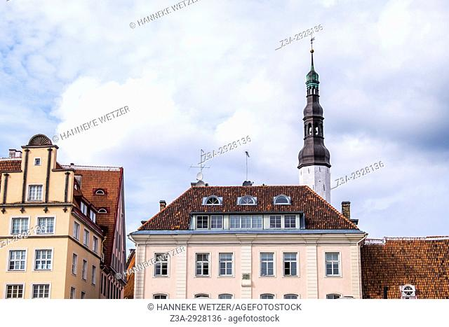 Town Hall square in Tallinn, Estonia