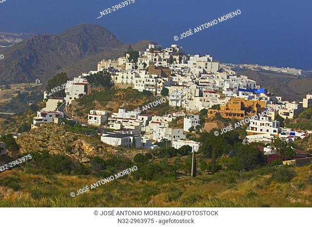 Mojacar, Old town, Almeria province, Andalusia, Spain