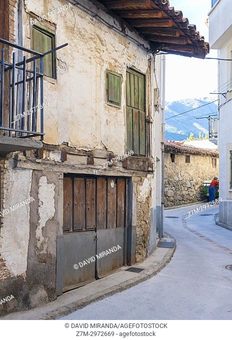 San Esteban del Valle. Barranco de las cinco villas. Valle del Tiétar. Provincia de Ávila, Castile-Leon, Spain