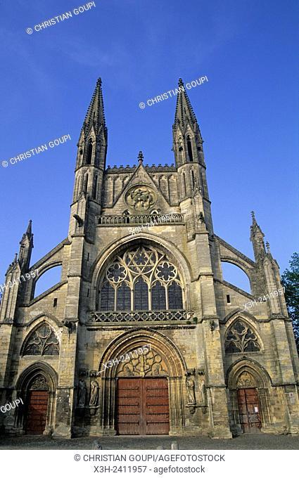 Saint-Martin Church, Laon, Aisne department, Picardy region, northern France, Europe