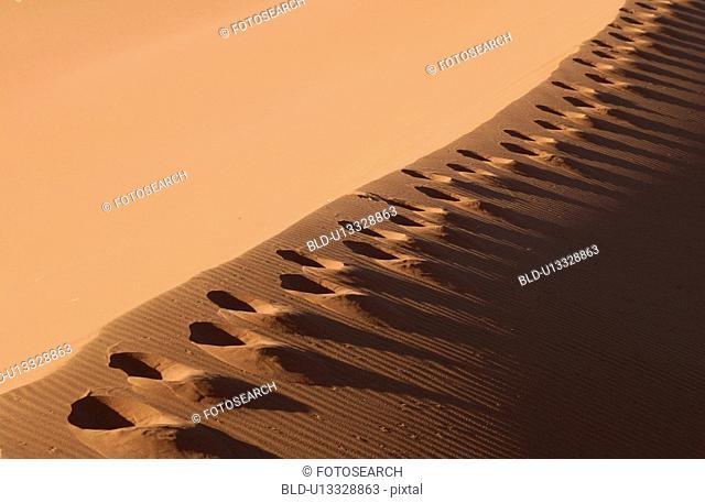 Sand Dunes of Sossusvlei - Namib desert, Namibia