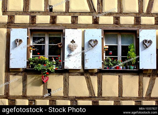 Colmar is a city in Alsace in France. The old town is characterized by cobblestone streets and half-timbered houses from the Middle Ages and the Renaissance