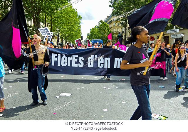 Paris, France, Gay Pride, LGTB March