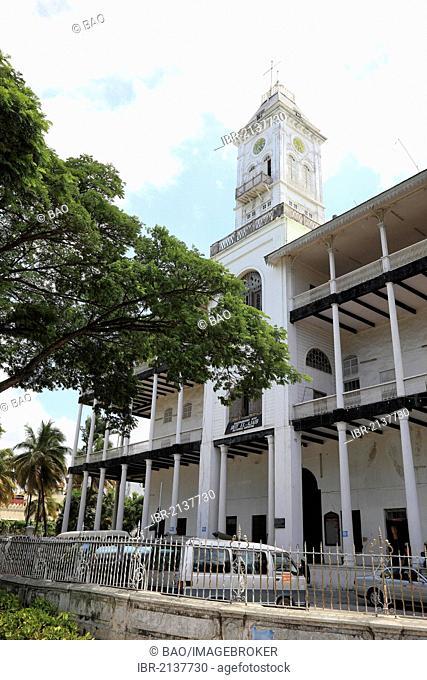 The House of Wonders, Beit el-Ajaib, now the National Museum, Stone Town, Zanzibar, Tanzania, Africa