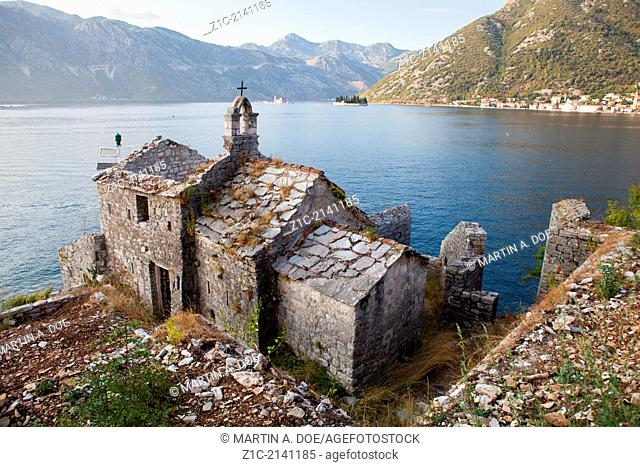 Gospa od Andela Our Lady of the Angels Church, Lepetane, Montenegro
