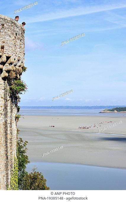 Le Mont Saint-Michel, Manche, Normandy, Basse-Normandie, France, Europe