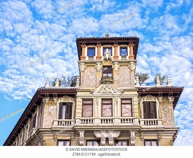 Old building. Madrid, Spain