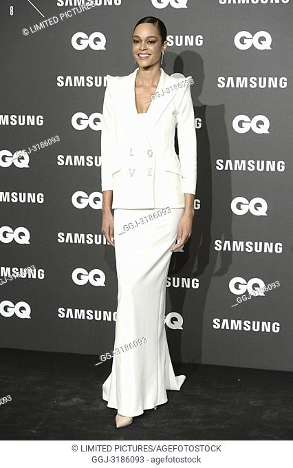Godeliv attends GQ Men of the Year Awards 2018 at Palace Hotel on November 22, 2018 in Madrid, Spain