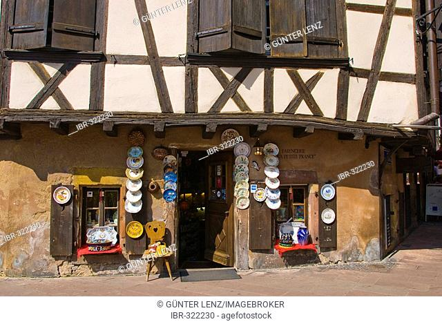 Timbered Houses Place B. Zix, Strasbourg, Alsace, France