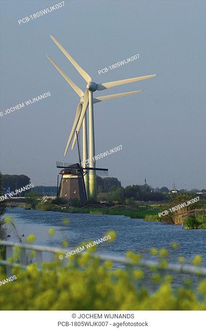 Holland, windmills zuid holland