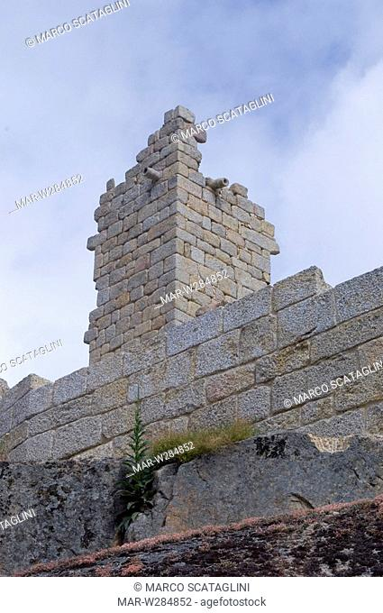 europe, portugal, naturtejo, castelo novo, castle