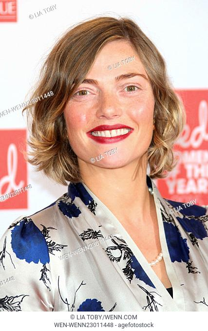 Red Women of the Year 2015 held at the Skylon Bar - Arrivals Featuring: Camilla Rutherford Where: London, United Kingdom When: 12 Oct 2015 Credit: Lia Toby/WENN