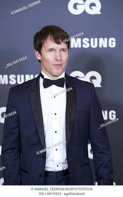 James Blunt attends GQ Men of the Year Awards 2019 at Palace Hotel on November 21, 2019 in Madrid, Spain